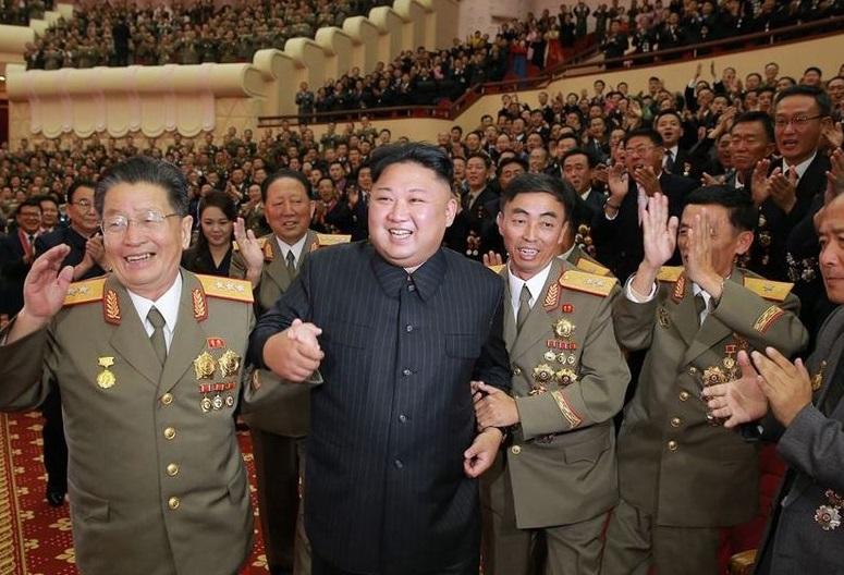 تفریح دانشمندان هسته ای کره شمالی