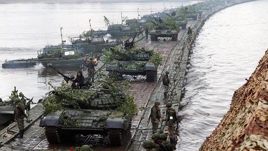 نگرانی ناتو از رزمایش نظامی روسیه در مرز لیتوانی