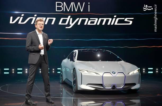 رونمایی از جدیدترین خودروی بامو+تصاویر