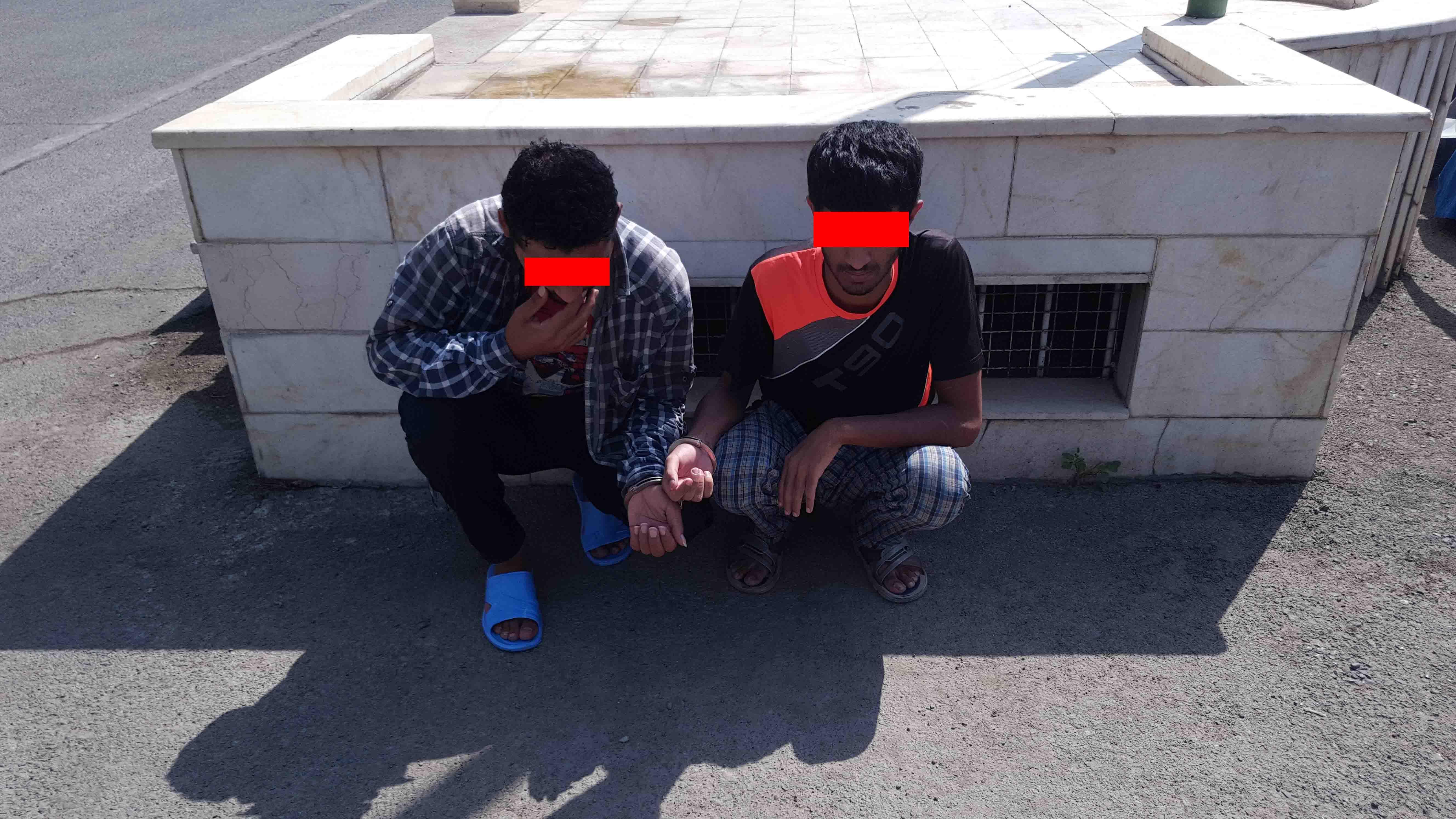 زورگیری در منازل شیوه جدید سارقان به عنف/ زورگیران در زندان به دام افتادند + تصاویر