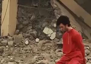 اعدام هولناک یک شهروند سوری با ضد هوایی توسط داعش+فیلم