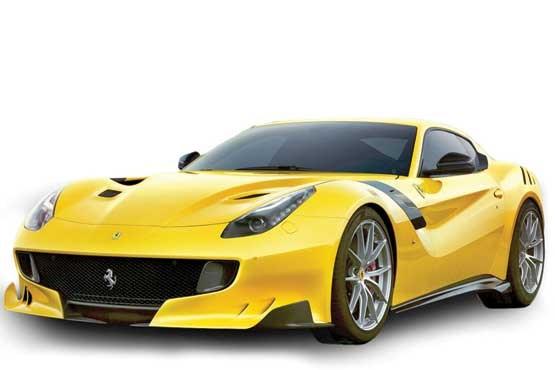 وحشیترین خودروی جهان زیر پای رونالدو +عکس