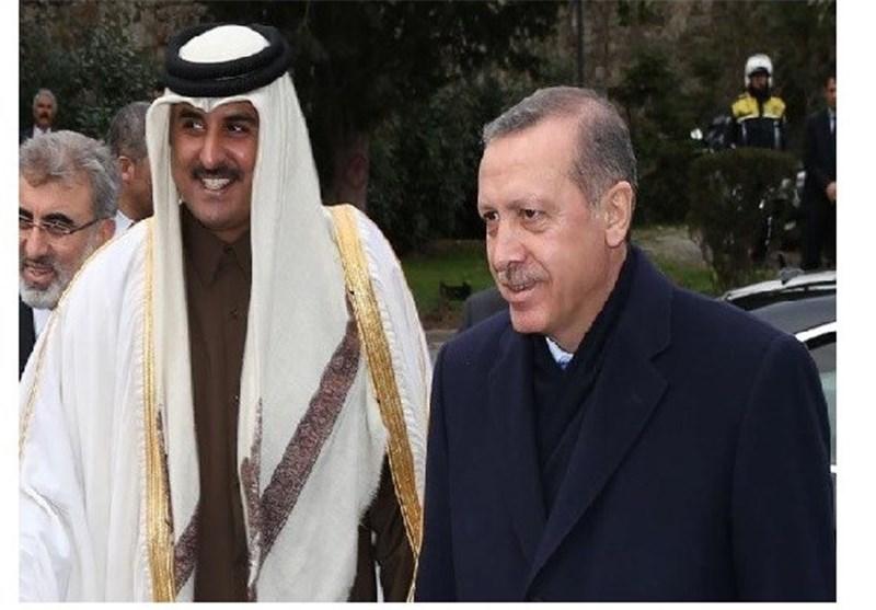 پشت پرده پنهانی سفر ناگهانی امیرقطر به ترکیه چیست؟
