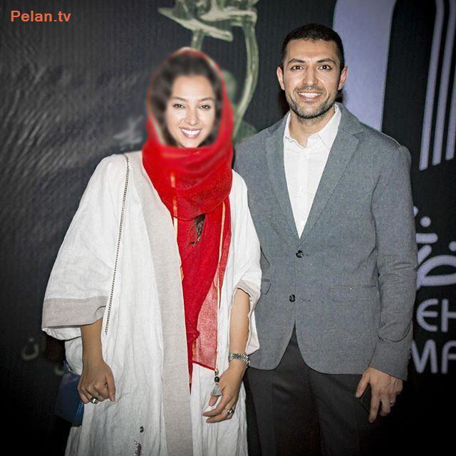 جدیدترین عکس اشکان خطیبی و همسرش + عکس