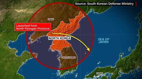 واکنشهای جهانی به آزمایش موشکی کره شمالی
