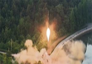 کره جنوبی آزمایش موشکی کره شمالی را با موشک جواب داد! + فیلم