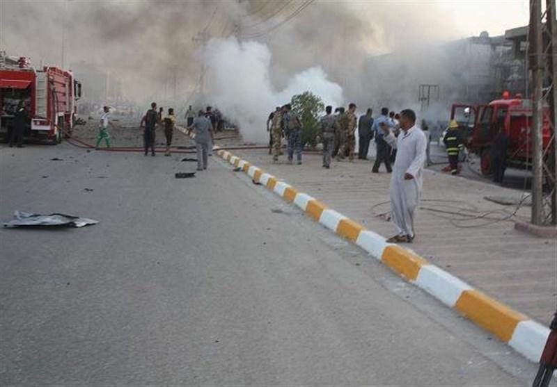 پیکر ۱۰ شهید ایرانی حادثه تروریستی ناصریه عراق تحویل گرفته شد+ اسامی
