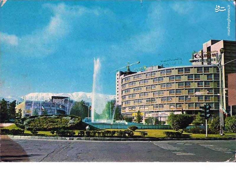 تصاویری کمیاب از میدان ولیعصر در دهه ۵۰