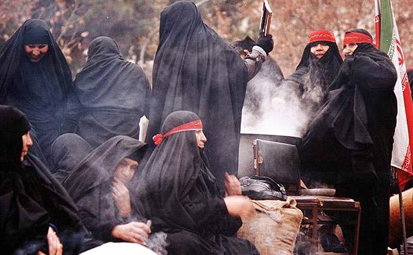 نقش زنان در دوران دفاع مقدس + تصاویر