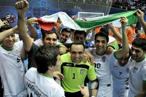 تمجید AFC  از کارنامه پر افتخار تیم ملی فوتسال ایران
