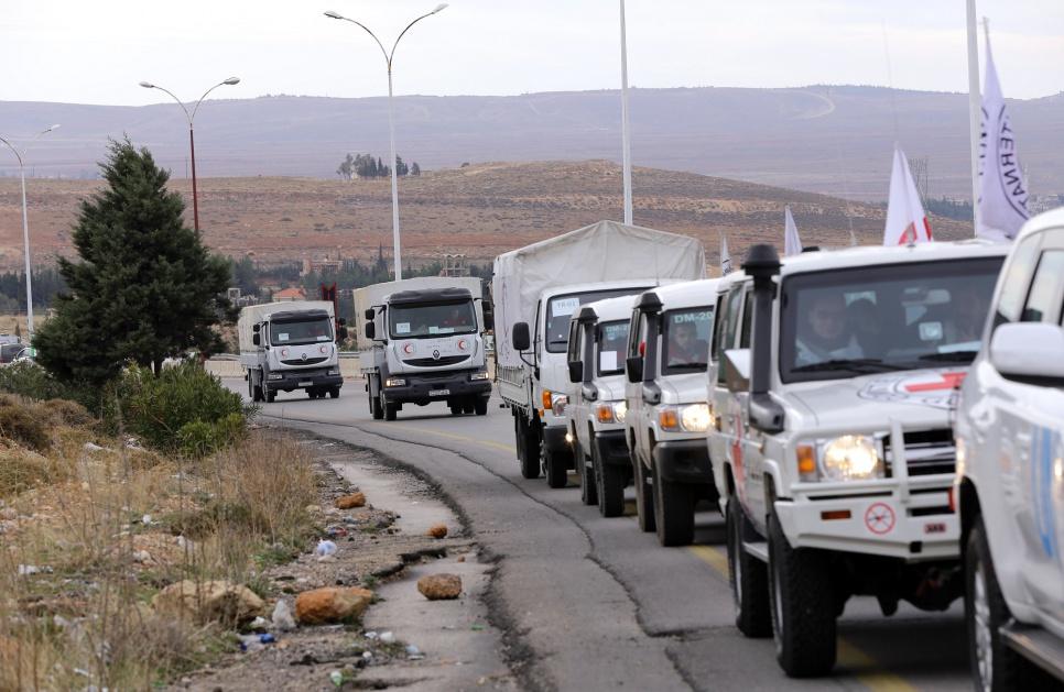 ورود نخستین کمکهای بشردوستانه سازمان ملل به دیرالزور