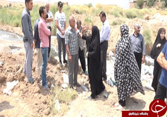 باشگاه خبرنگاران - بوی بد فاضلاب و نبود بهداشت در ورودی شهر شیراز/ مسئولین مربوطه مشکلات را دریابند