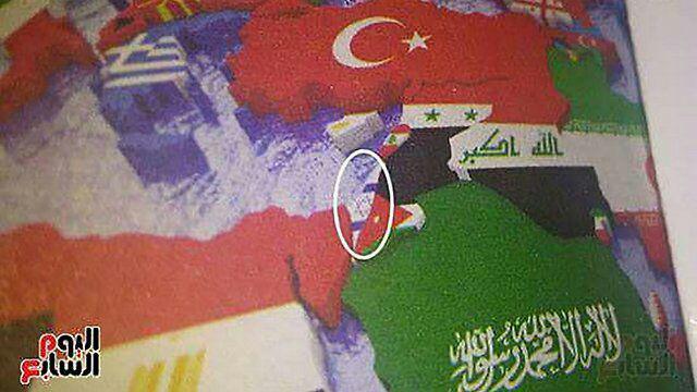 چاپ پرچم رژیم صهیونیستی در کتب درسی دانشآموزان مصری+ عکس