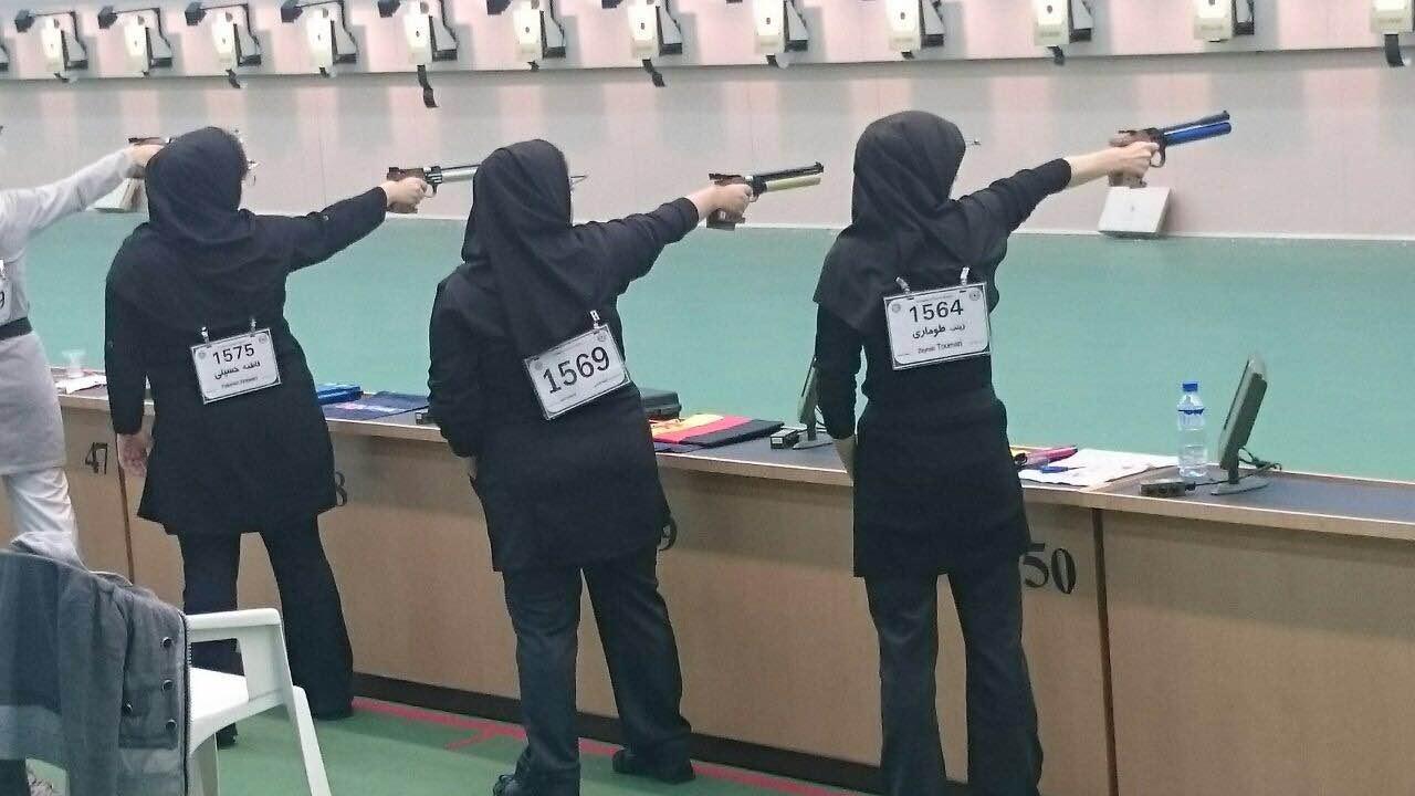 قهرمانی تیرانداز همدانی در لیگ برتر