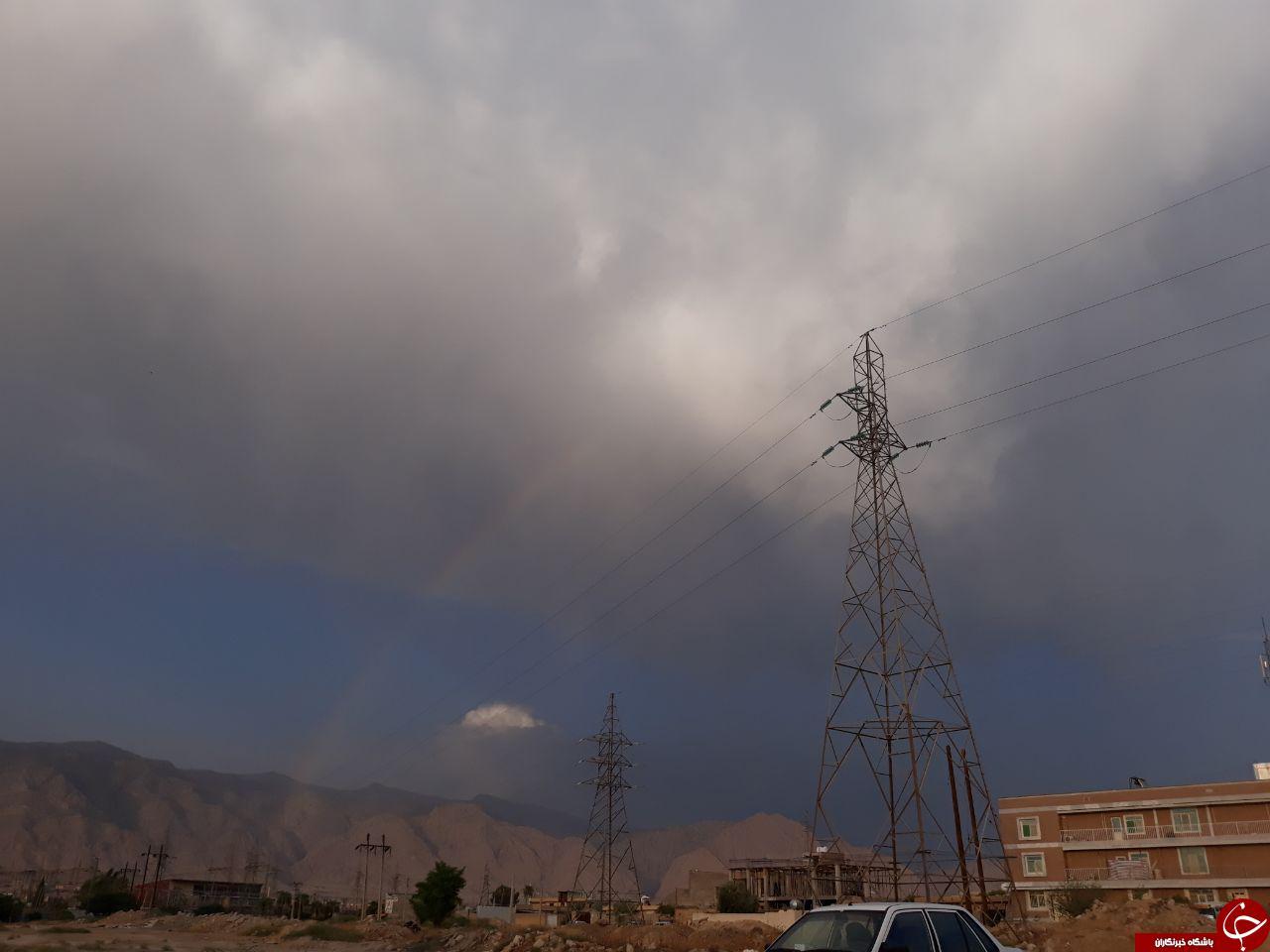تیراژه هفت رنگ بر روی کوه خامی + تصاویر