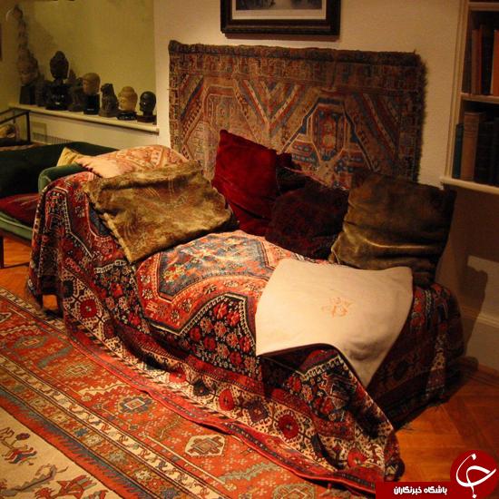 فرش ایرانی فروید را ببینید +عکس