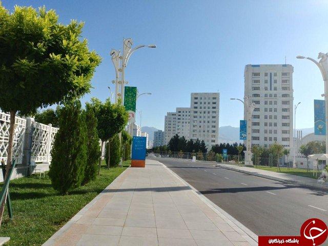 تشریفات المپیکی ترکمنستان برای بازیهای داخل سالن آسیا +تصاویر