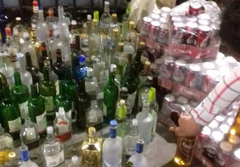 کشف 5 هزار و 100 لیتر مشروبات الکلی در بردسیر