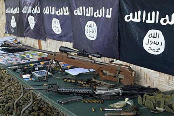 نمایشگاه خوفناک تسلیحات داعش در مسکو+فیلم