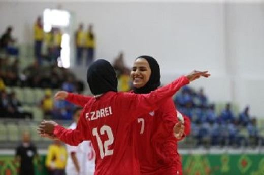 تیم ملی فوتسال بانوان 16 - فلسطین یک/بانوان فوتسال ایران فلسطین را گلبارانکردند