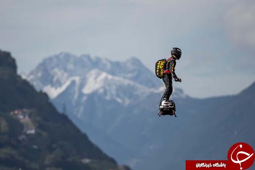 تصاویر روز: از چمن زن 11 ساله کاخ سفید تا پرواز یک ورزشکار با فلای برد