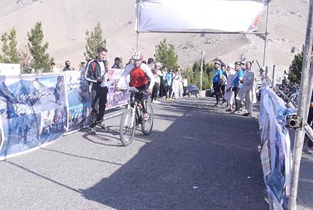 برگزاری نخستین رقابتهای دوچرخه سواری کوهستانی در هرات