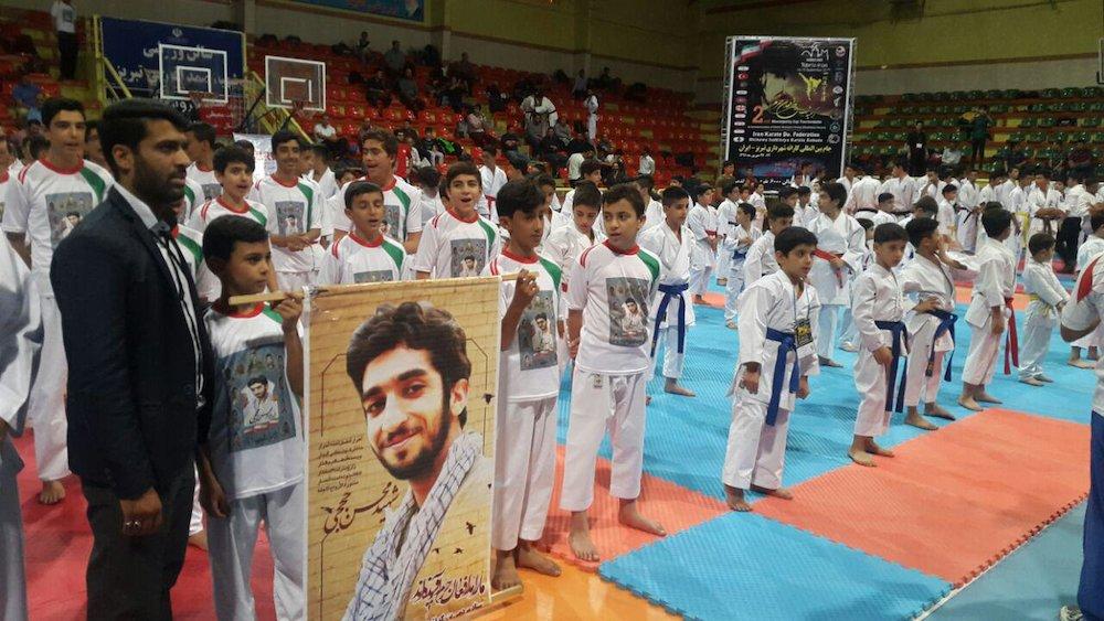 ایران قهرمان مسابقات بینالمللی کاراته گرامیداشت شهدای مدافع حرم