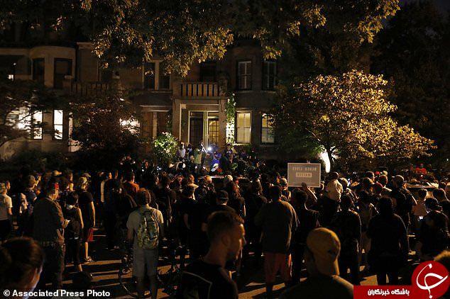 تظاهرات در سنت لوئیس آمریکا به خشونت کشیده شد+ تصاویر