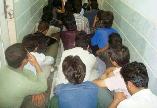 جمع آوری ۵۴ معتاد متجاهر در شهرستان ایرانشهر