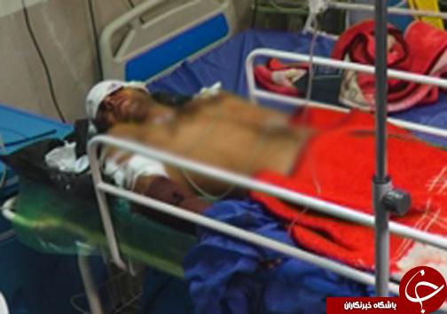 حمله پلنگ به جوان گلستانی + عکس