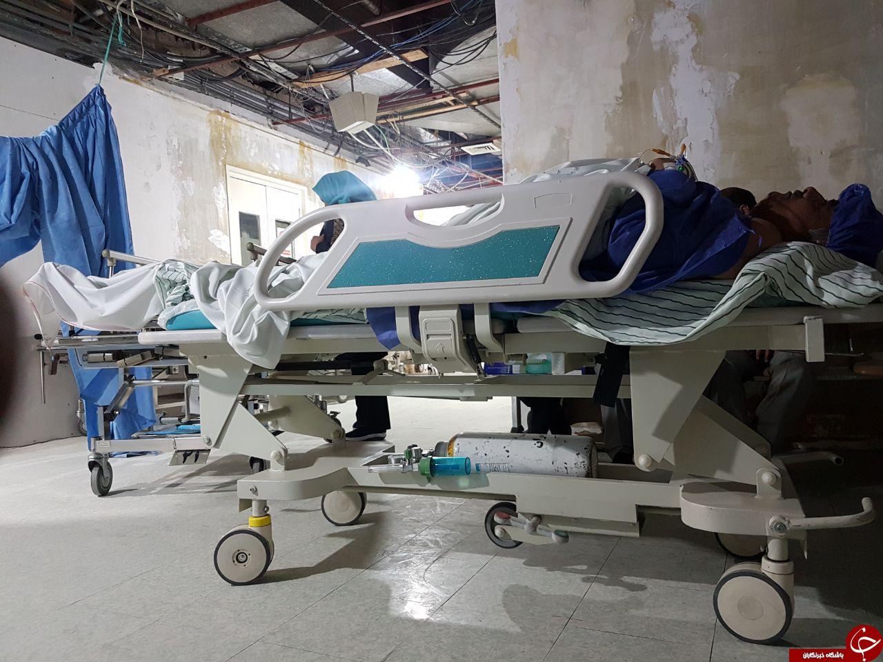 انجام عمل جراحی در حین تعمیرات در بیمارستان!! + تصاویر