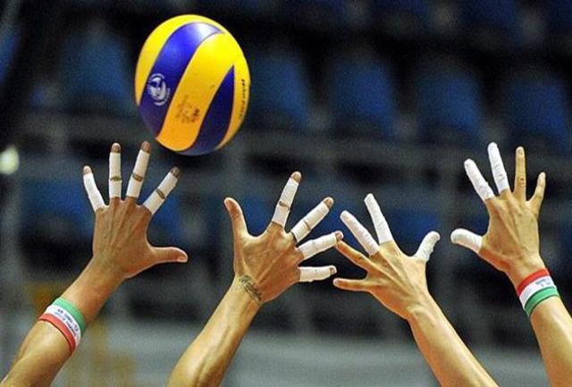 پیروزی قاطع بلندقامتان والیبال ایران مقابل ژاپن + فیلم