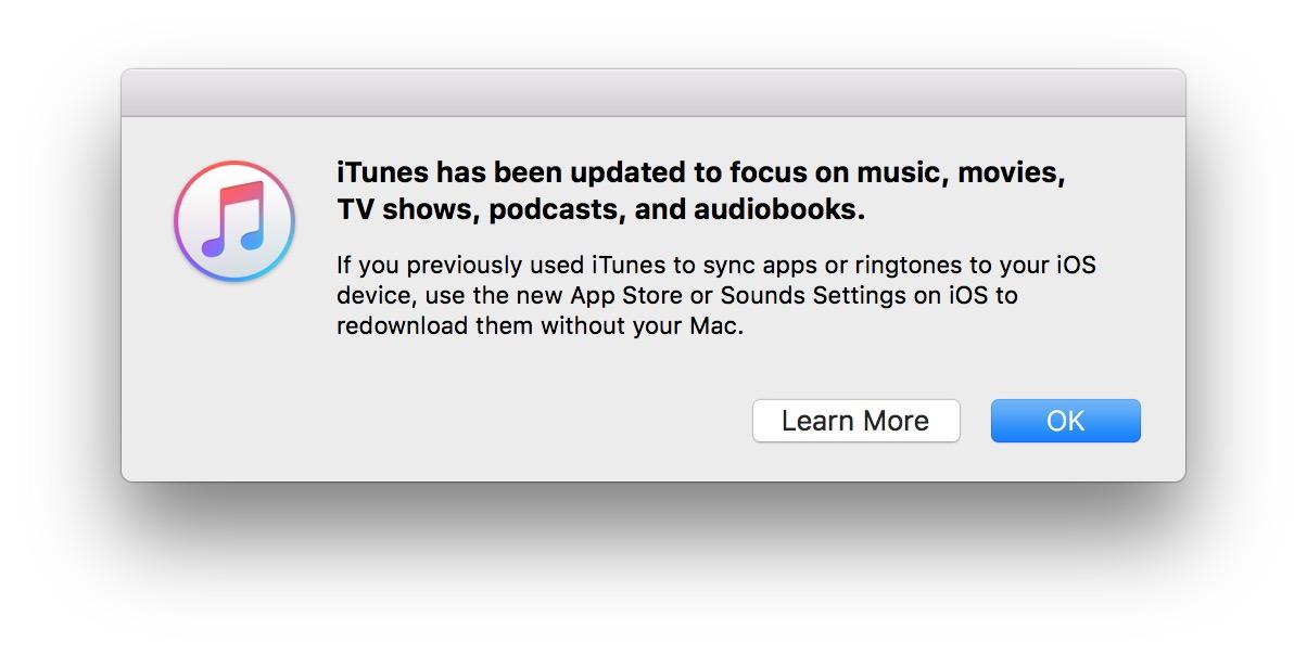 اپل اپاستور را از روی آیتونز حذف کرد