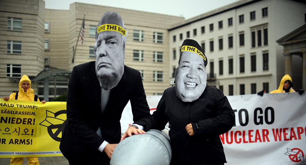 تحلیلگر سیاسی:  «جوجه بازی» ترامپ و کیم جونگ اون آغاز شده است