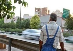 رونمایی یک شغل در خیابان های پایتخت +عکس