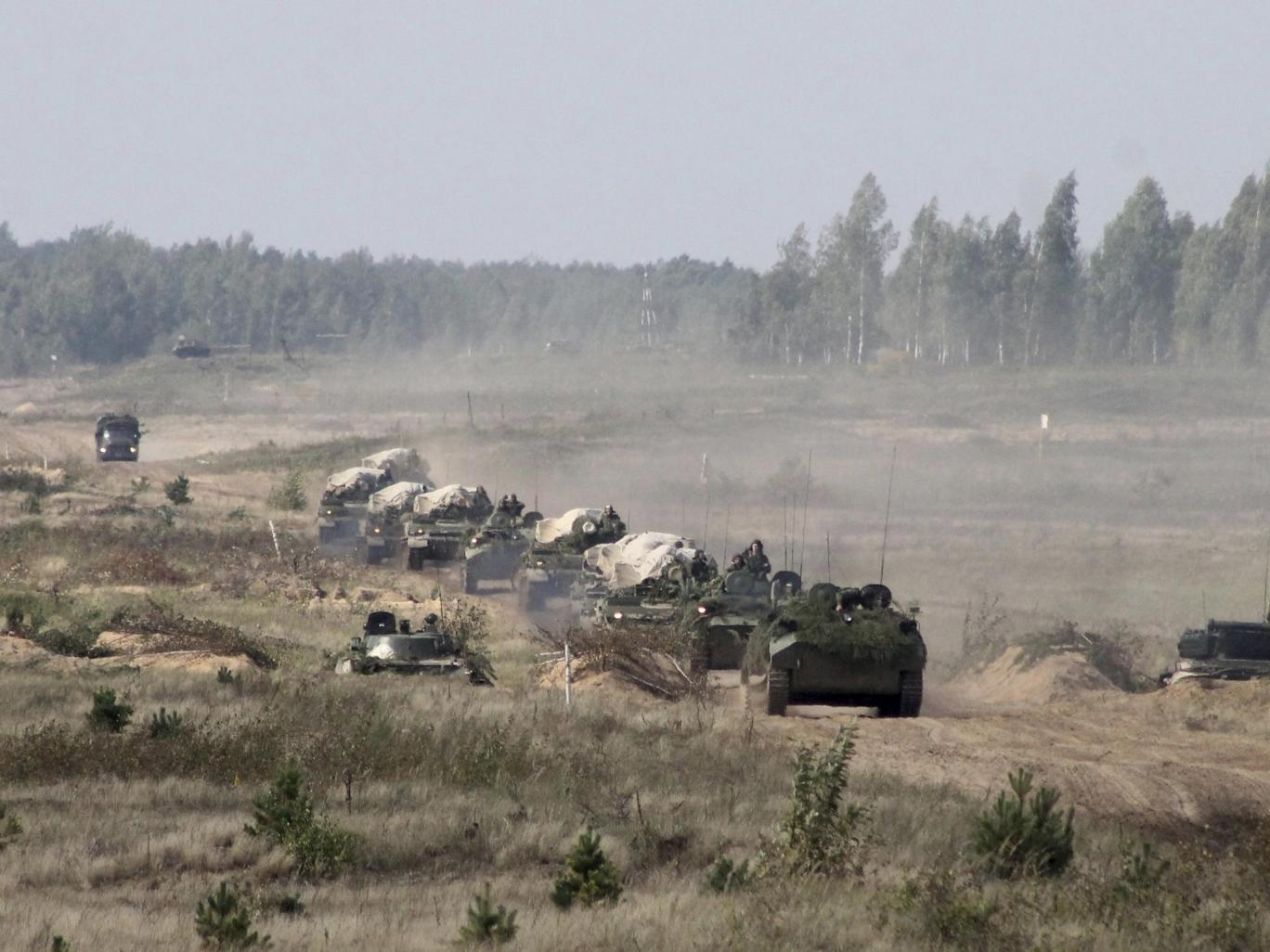 ورود تیپ زرهی آمریکا به لهستان همزمان با رزمایش مشترک روسیه و بلاروس