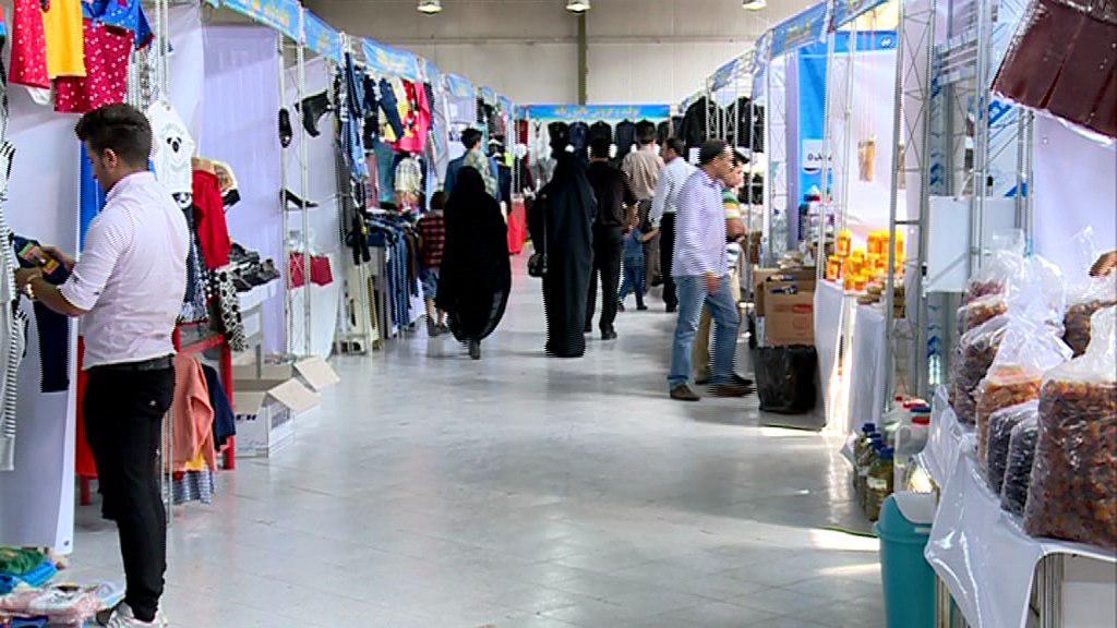 گشایش نمایشگاه تولیدات مددجویان کمیته امداد آذربایجان شرقی