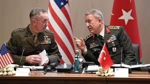 دیدار رئیس ستاد مشترک ارتش آمریکا با همتای ترکیه ای خود