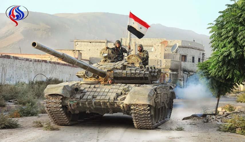 تسلط ارتش سوریه بر مناطقی در استان حماه