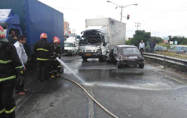 3 کشته و یک مصدوم در تصادفات محورهای استان زنجان