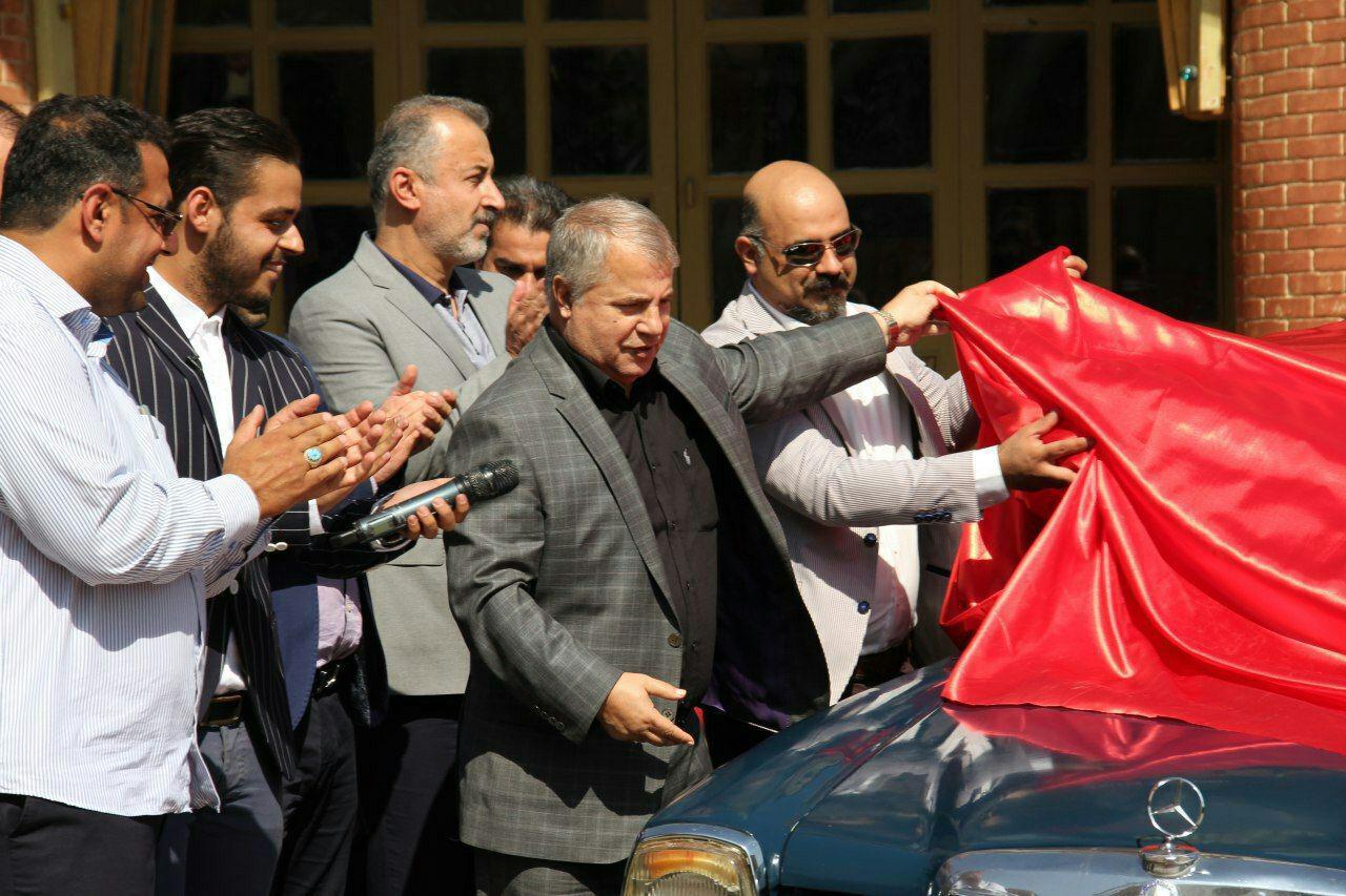 ماشین بنز علی پروین به نفع موسسه خیریه شهید کامیاب گناباد به فروش میرسد