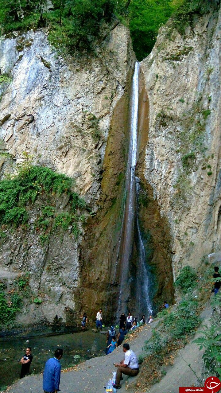 آبشار زیبا و شگفتانگیز در روستای «زیارت» + فیلم و تصاویر