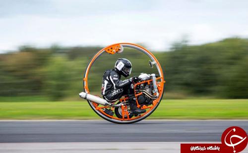 تصاویر روز: از موتورسیکلت تک چرخ تا اسکناس جدید 10 پوندی
