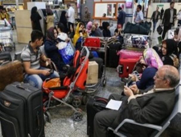 برخورد قضایى با اعتراضهای غیرقانونى مسافران شرکتهای هواپیمایی