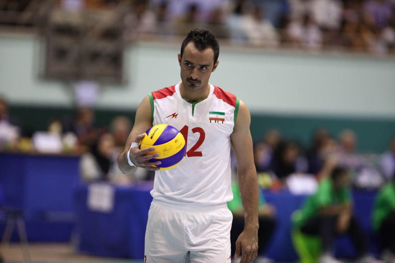 خداحافظی فرهاد نظری افشار از تیم ملی والیبال
