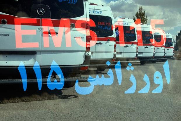 تقویت ناوگان اورژانس شهرستان دیر با آمبولانسهای مجهز