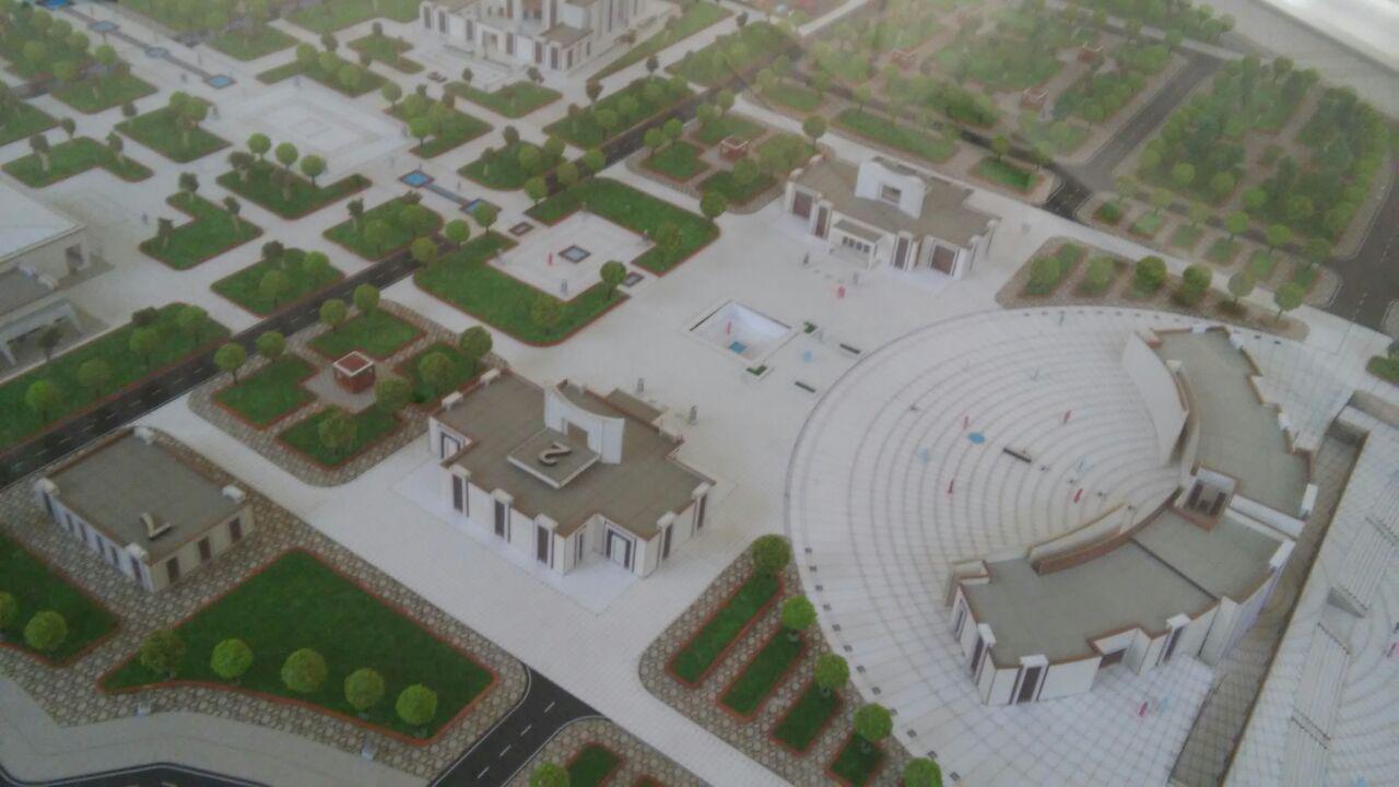 پیشرفت 15 درصدی بزرگترین موزه دفاع مقدس کشور در مشهد