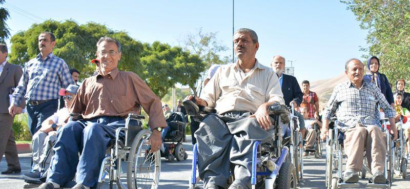 جشنواره پیاده روی جانبازان ومعلولین درهمدان