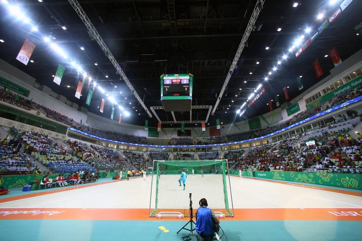 تصاویر روز دوم بازی های آسیایی داخل سالن 2017 - ترکمنستان