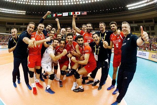 واکنش کاربران به پیروزی تیم ملی والیبال ایران برابر فرانسه+توییت